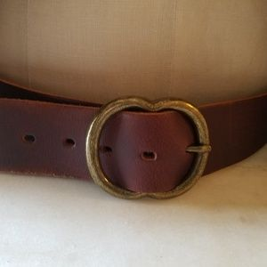 New Leather belt